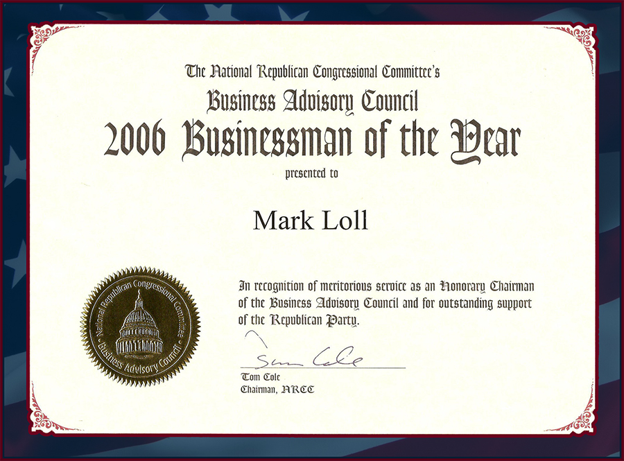 Businessman Of The Year 2006