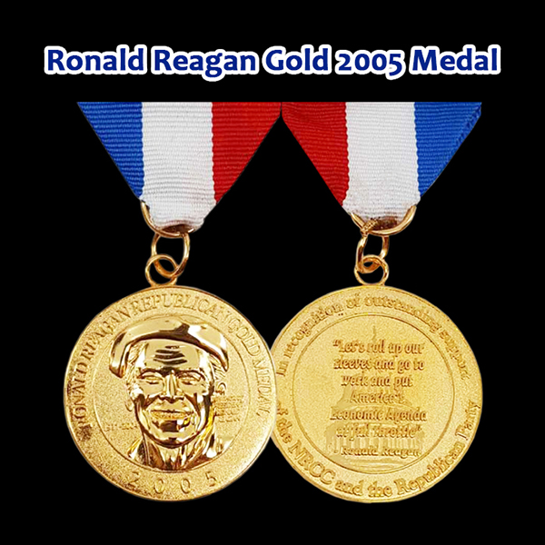Award Ronald Reagan 2005 Gold Medal